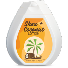 shea coconut hand lotion