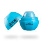 blue razberry 842r rvo lip balm with custom logo open