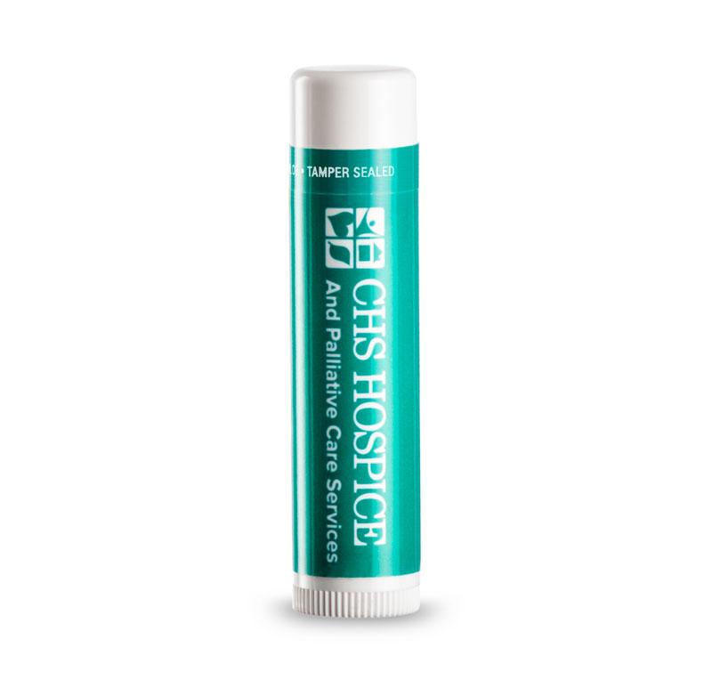spf 15 lip balm custom label