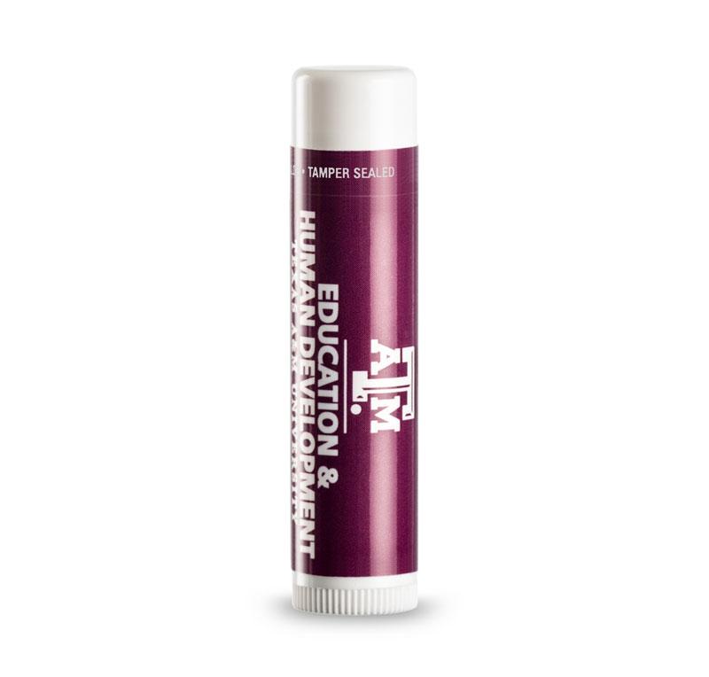 spf 30 lip balm custom label
