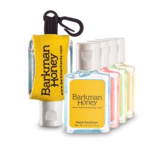.5oz hand sanitizer custom label custom leash
