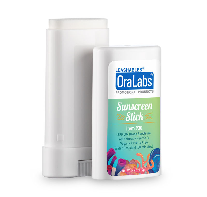 930 sun screen stick custom label spf 50 broad spectrum all natural reef safe vegan cruelty free water resistant 80 minutes